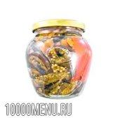 Баклажани консервовані. калорійність консервованих баклажанів