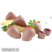 Фрукти в шоколаді