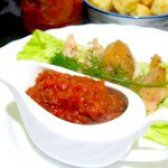 Як приготувати аджику з маринованих огірків - рецепт