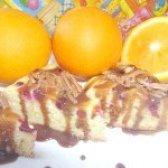 Як приготувати апельсиновий пиріг з журавлиною в мультиварці - рецепт