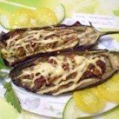 Як приготувати баклажани фаршировані м'ясом - рецепт