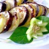 Як приготувати баклажани і кабачки запечені з часником - рецепт