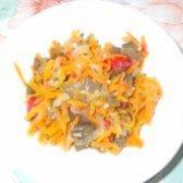 Як приготувати баклажани тушковані з овочами - рецепт