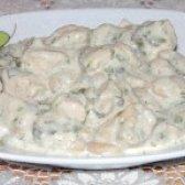 Як приготувати білу квасолю в сметанному соусі - рецепт