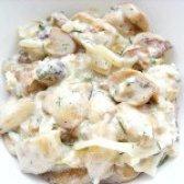 Як приготувати білі гриби у вершках - рецепт