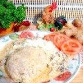 Як приготувати биточки з картоплею під грибною підливою - рецепт