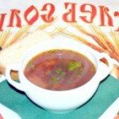 Як приготувати борщ з чорносливом - рецепт