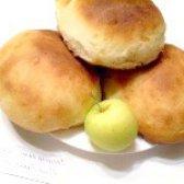 Як приготувати булочки ванільні з яблуками - рецепт
