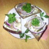 Як приготувати бутерброд з оселедцем - рецепт