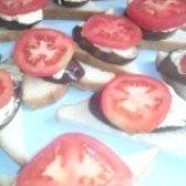 Як приготувати бутерброди з баклажанами і помідорами - рецепт
