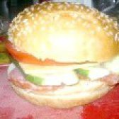 Як приготувати домашній гамбургер з гірчицею - рецепт
