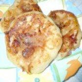 Як приготувати дріжджові оладки з яблучним пріпёком - рецепт