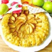 Як приготувати галету з яблуками - рецепт