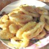 Як приготувати хрусткі кільця з кальмарів - рецепт
