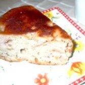 Як приготувати яблучну шарлотку з варенням - рецепт