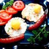 Як приготувати яєчню святкову - рецепт