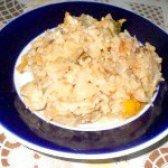 Як приготувати капуста тушкована з рисом - рецепт