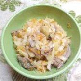Як приготувати капусту тушковану з м'ясом - рецепт