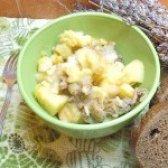 Як приготувати картопля тушкована з кольоровою капустою - рецепт