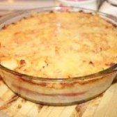 Як приготувати картопляну запіканку з помідорами і фаршем - рецепт