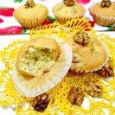 Як приготувати кекс з волоськими горіхами - рецепт