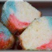 Як приготувати кекси кольорові - рецепт
