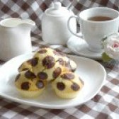 Як приготувати кекси в горошках до чаю - рецепт