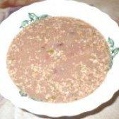 Як приготувати пісний квасолевий суп з волоськими горіхами - рецепт