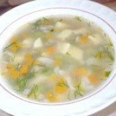 Як приготувати пісний гречаний суп із зеленим горошком - рецепт