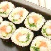 Як приготувати роли з креветками лососем - рецепт