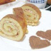 Як приготувати рулет бісквітний з повидлом і кокосовою стружкою - рецепт