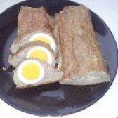 Як приготувати рулет з фаршу і яєць - рецепт