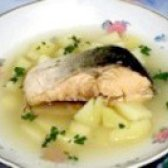 Як приготувати рибний суп з горбуші - рецепт