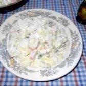 Як приготувати салат домашній з крабовими паличками - рецепт
