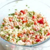Як приготувати салат з булгура з помідорами - рецепт