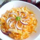 Як приготувати салат з капусти і моркви - рецепт