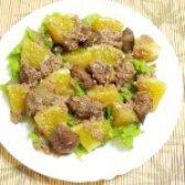 Як приготувати салат з курячої печінки з апельсинами - рецепт