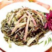 Як приготувати салат з ламінарії і крабових паличок - рецепт