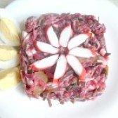 Як приготувати салат з морської капусти і буряка - рецепт
