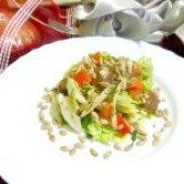 Як приготувати салат з пекінської капусти і курки - рецепт