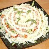 Як приготувати салат з пекінської капусти і ковбаси - рецепт