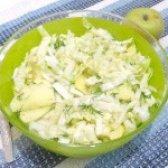 Як приготувати салат з пекінської капусти і яблука - рецепт