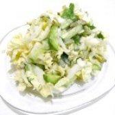 Як приготувати салат з пекінської капусти і огірком - рецепт