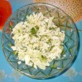Як приготувати салат з пекінської капусти з зеленню - рецепт