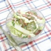 Як приготувати салат з пекінської капусти маринованими помідорами - рецепт