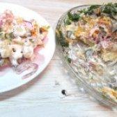 Як приготувати салат з серця і квасолі - рецепт