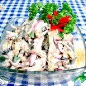 Як приготувати салат з серця - рецепт