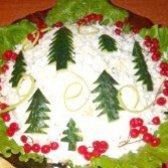 Як приготувати салат новорічна ялинка? рецепт