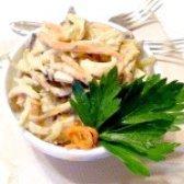 Як приготувати салат печінковий з морквою по-корейськи - рецепт