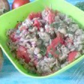 Як приготувати салат з баклажанами і помідорами - рецепт